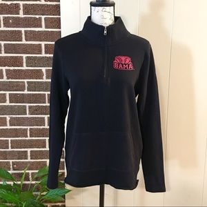"""VS PINK """"BAMA ALL THE WAY"""" Half Zip Pullover S/P"""
